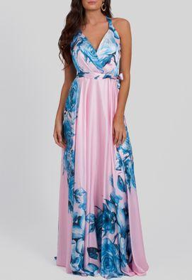 vestido-lina-longo-de-cetim-floral-powerlook-rosa-estampado