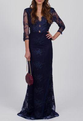 vestido-telma-de-renda-manga-3-4-com-transparencia-powerlook-azul-marinho