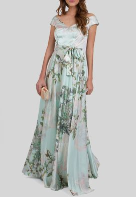 vestido-kiki-longo-de-cetim-floral-decote-canoa-powerlook-verde-estampado
