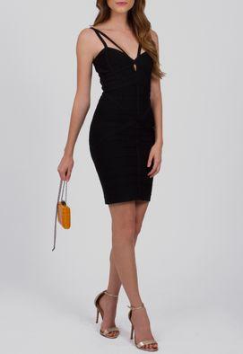 vestido-ravena-curto-bandagem-strappy-powerlook-preto