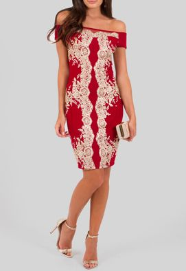vestido-elisabeth-curto-com-aplicacao-de-renda-dourada-powerlook-vermelho