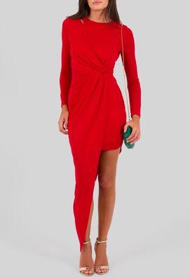 vestido-ivete-curto-de-manga-comprida-irregular-powerlook-vermelho