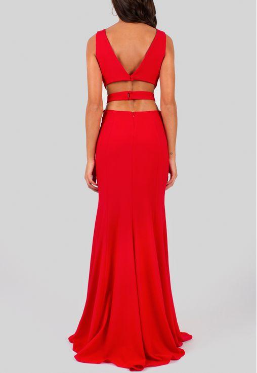 vestido-vivi-longo-com-recortes-na-cintura-e-fenda-powerlook-vermelho