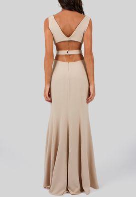 vestido-tatiana-longo-com-recortes-na-cintura-e-fenda-powerlook-nude