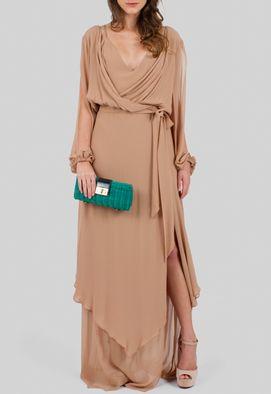 vestido-dona-longo-de-seda-com-babados-na-saia-julia-golldenzon-marrom