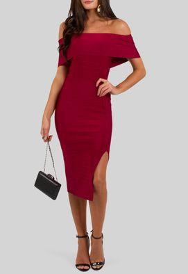 vestido-anabel-curto-bandagem-com-fenda-powerlook-vinho