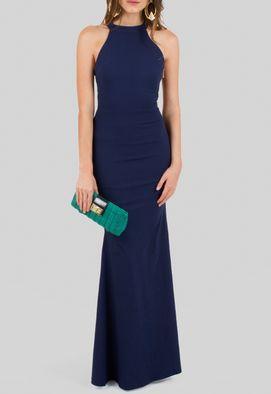 vestido-paulina-longo-com-gola-tartaruga-e-modelagem-sereia-powerlook-azul-marinho