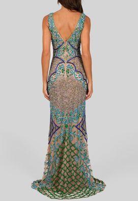 vestido-giva-longo-sem-manga-todo-bordado-azul-turquesa-e-verde-powerlook