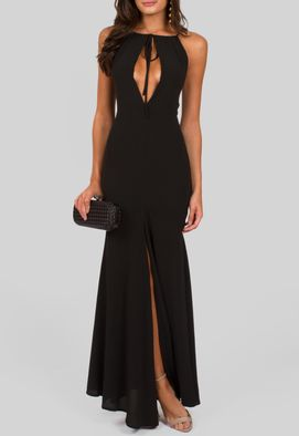 vestido-bilbau-longo-com-abertura-frontal-no-busto-e-fenda-powerlook-preto