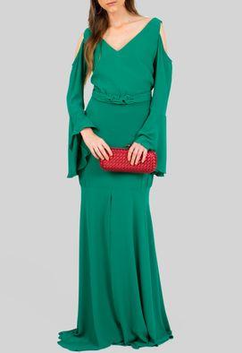 vestido-viseu-longo-de-manga-comprida-sino-e-cinto-lucidez-verde