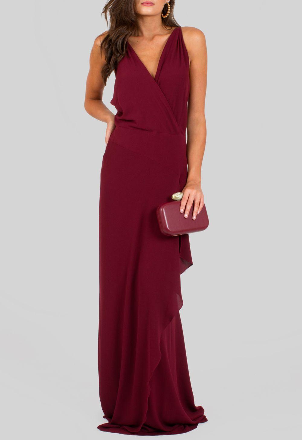 4efe4407c vestido-evora-longo-com-alcas-trancadas-e-fenda ...