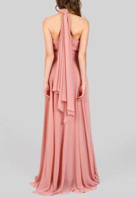 vestido-ofelia-longo-fluido-com-gola-alta-powerlook-rose