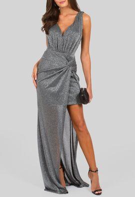 vestido-viena-longo-de-lurex-com-fenda-powerlook-prata
