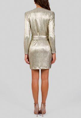 vestido-istambul-curto-de-manga-comprida-de-lame-amissima-dourado