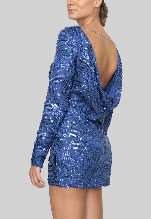 vestido-fla-curto-de-manga-comprida-de-paetes-bcbg-azul