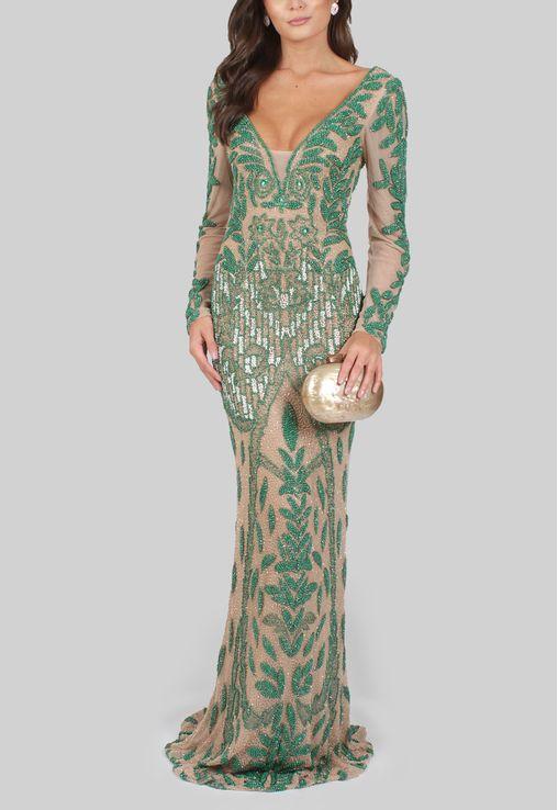 vestido-marie-longo-de-manga-comprida-todo-bordado-powerlook-verde