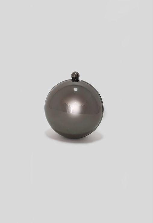 clutch-prata-esfera-de-metal-isla-prateada