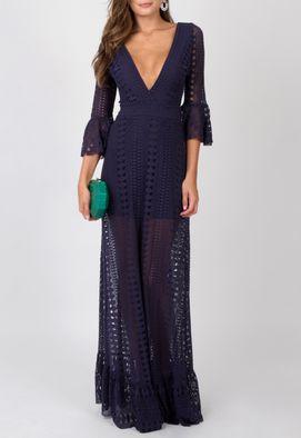 vestido-veridiana-longo-powerlook-marinho