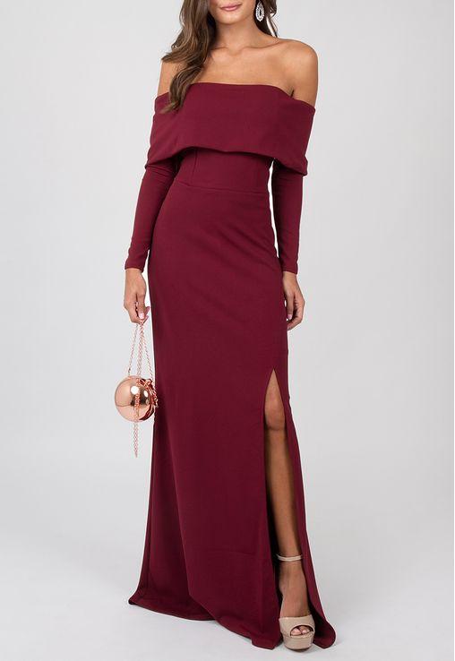 vestido-gleice-longo-powerlook-marsala