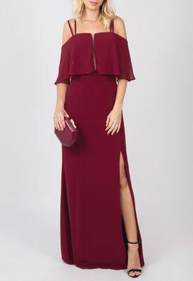 vestido-elenora-longo-powerlook-marsala