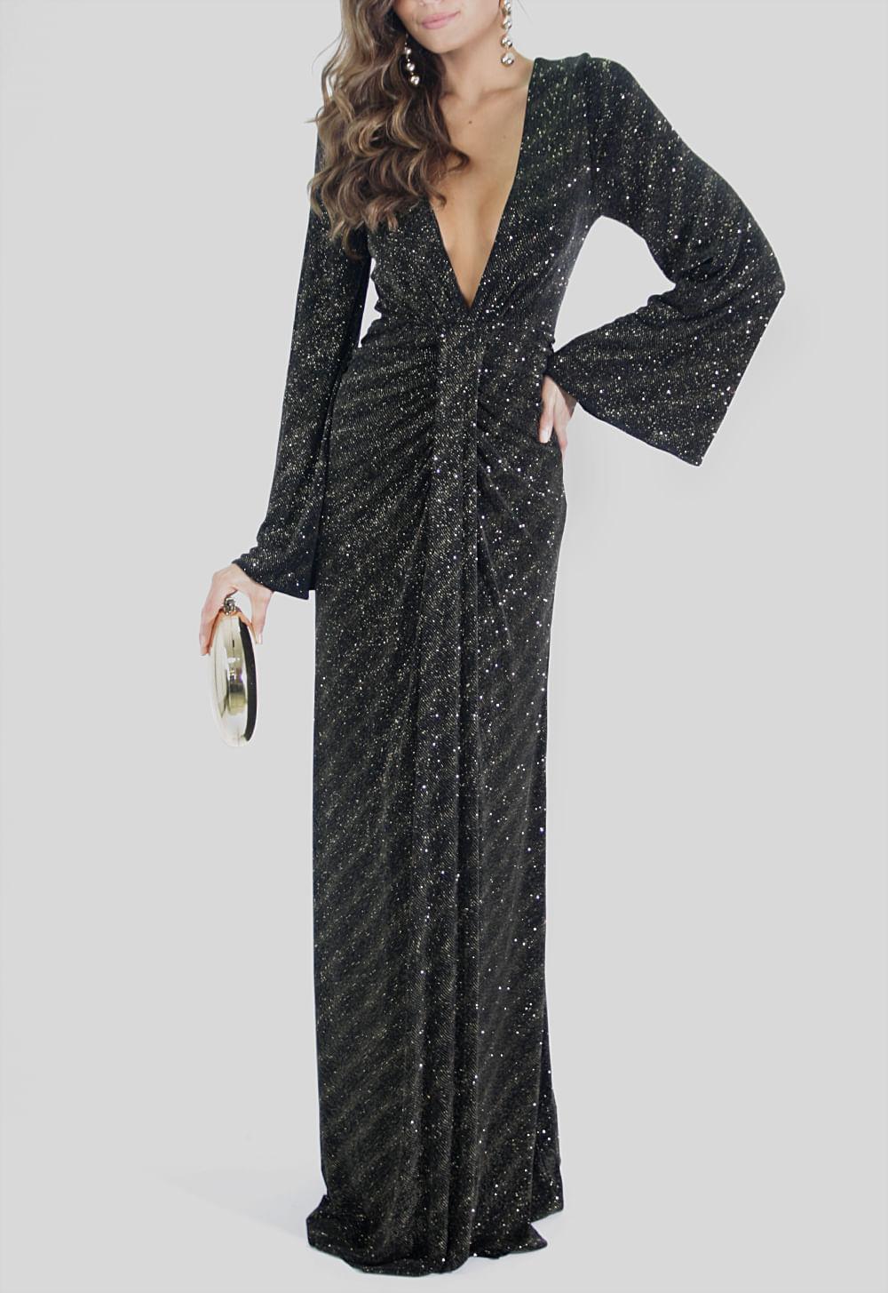 1af675550 Vestido Meredith longo Ateen - powerlook