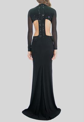 vestido-lupita-longo-powerlook-preto
