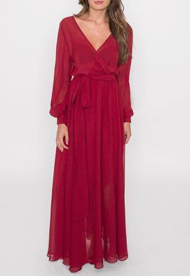 vestido-nadine-longo-powerlook-marsala