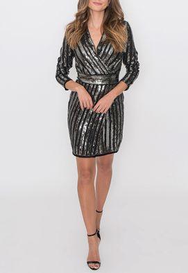 vestido-leona-curto-powerlook-prata-e-preto