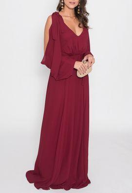 vestido-mayara-longo-powerlook-marsala