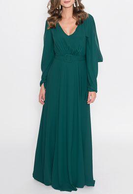 vestido-mayara-longo-powerlook-verde