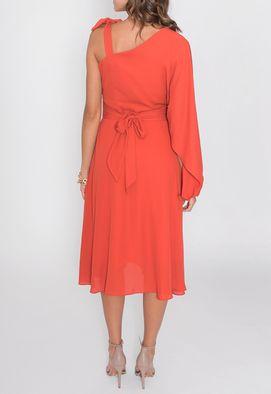 Vestido-Violeta-midi-com-um-ombro-so-PowerLook-laranja