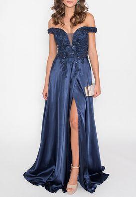 vestido-managua-longo-powerlook-marinho