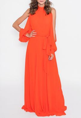 vestido-fay-longo-powerlook-coral