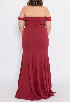 vestido-suenia-longo-powerlook-marsala
