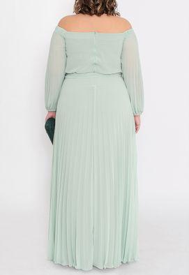 vestido-tavares-longo-powerlook-verde-menta