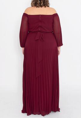 vestido-tavares-longo-powerlook-marsala