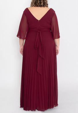 vestido-mirandina-longo-powerlook-marsala
