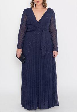vestido-mazzolene-longo-powerlook-marinho