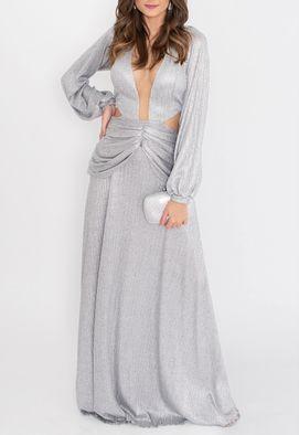 vestido-reya-longo-powerlook-prata