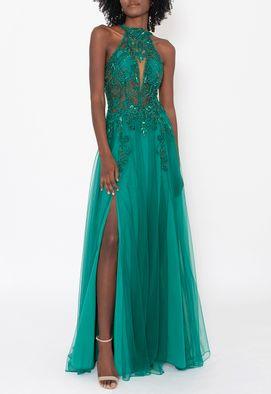 vestido-cilandro-longo-powerlook-verde