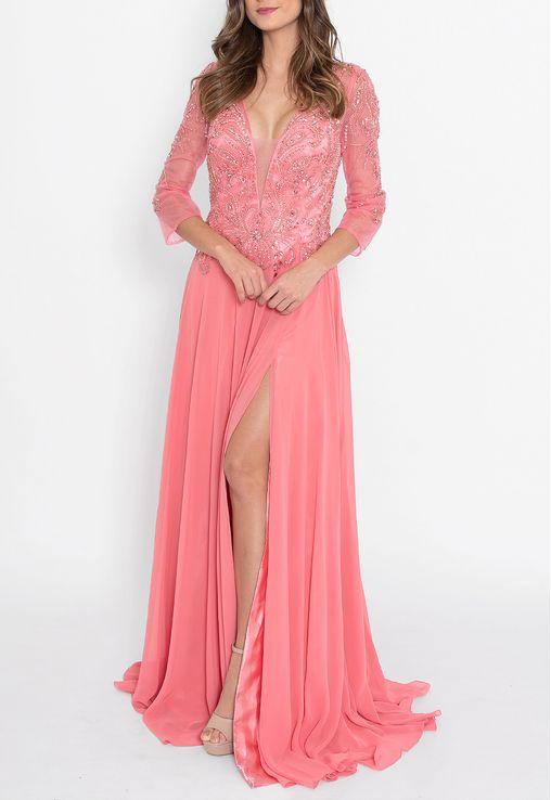 vestido-taina-longo-powerlook-coral