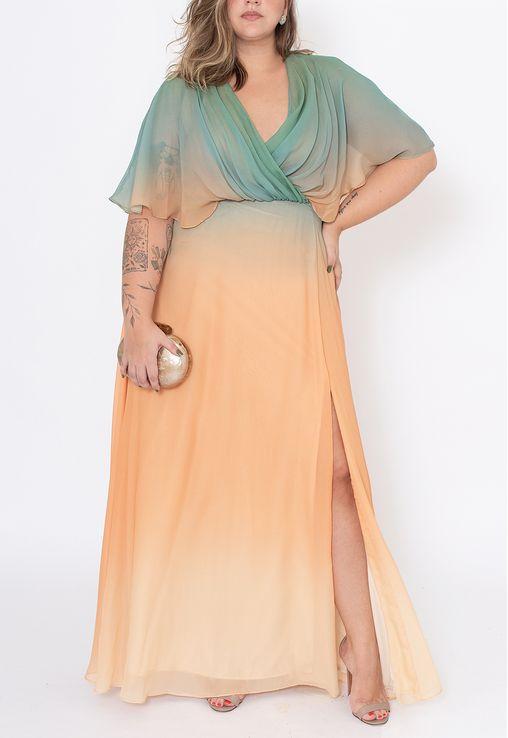 vestido-verbena-longo-powerlook-verde-e-nude