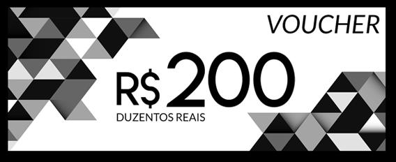 Voucher R$ 200,00 PowerLook