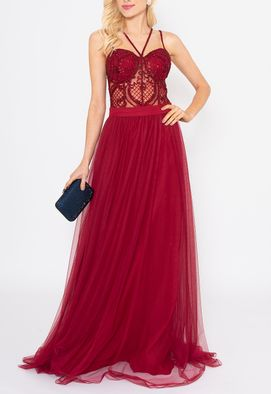 vestido-vania-longo-powerlook-marsala