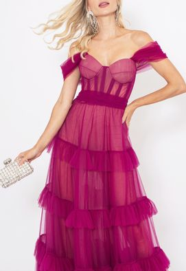 Vestido-Aline-longo-Honoria---fucsia
