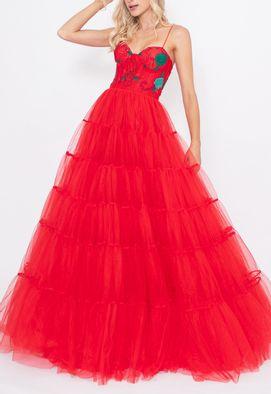 Vestido-Gianina-longo-Honoria-vermelho