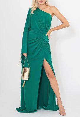 Vestido-Yasmin-longo-Unity-Seven-verde