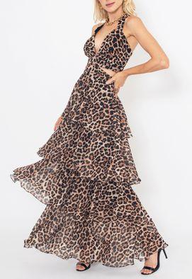 Vestido-Aisha-longo-Powerlook-estampado