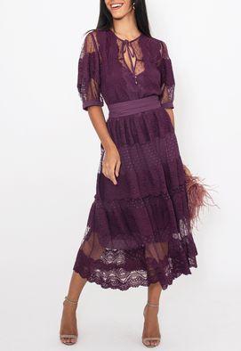 Vestido-Marieta-midi-Amissima-roxo