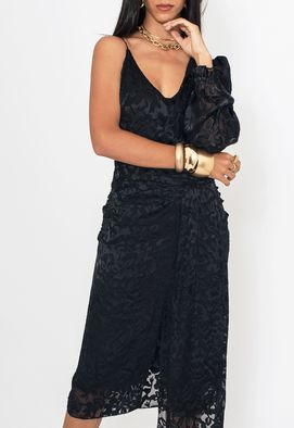 Vestido-Marina-midi-Amissima-preto